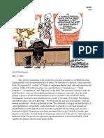 Cartoon Anaylsis-Death Penalty