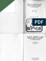 Black America and Organized Labor