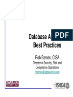 Auditing Best Practices