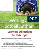 football anthem ppt