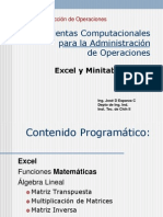 Curso EXCEL Maestria