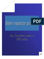 Boiler Inspection -Daily