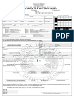 Application for Building Permit