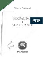 Sexualidad y Significante -Diana Rabinovich