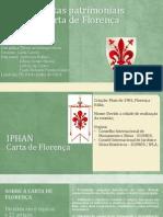 Carta de Florença Edson Paulo Andressa