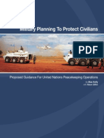 Military Planning to Protect Civilians 2011