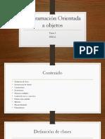 Tema 3 Programación Orientada a Objetos