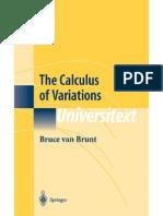 Calculus of Variations [Brunt] PDFredirect