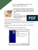 Cómo Instalar Los Compiladores de GCC en Windows