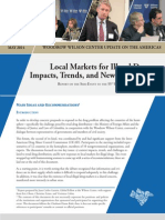 Local Markets for Illegal Drugs