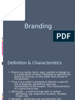 Branding-difination and culture