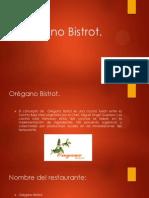 Orégano Bistrot