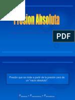 PRESION ABSOLUTA