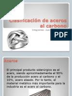 Clasificacion de Los Aceros Al Carbono Niti Nitiiiiii