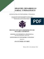Proceso Contable-Administrativo Bulgaria Car Service