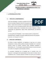 Análisis Comparativo Entre La Propiedad Civil y La Propiedad Agraria
