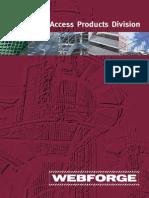 Webforge Access Brochure 2008