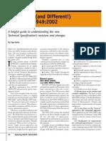 Lo Nuevo y Diferente de ISO TS 4
