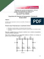 Experiment o 4 - Teorema da superposição -