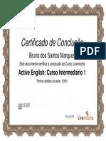 Active English Curso Intermediário 1