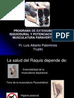Fortalecimiento Paravertebrales Estiramiento Isquiosurales