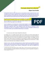 CONCEPTO NÁHUATL DE LA EDUCACIÓN