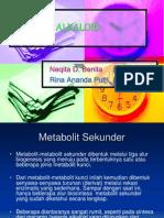 Presentasi Alkaloid