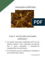 Redes Neuronales - Presentación
