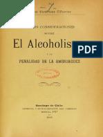 Cifuentes_Penalidad de La Embriagez_1899