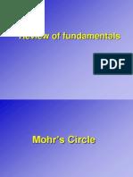 Fundamentals Mohrs Circle Dis