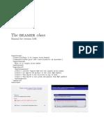 beamer manual