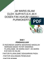 Hk Waris Islam i