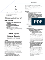 1. National Security, Laws of the Nations, Fundamental Laws