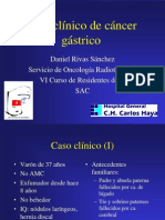 Caso Clinico Cancer Gastrico