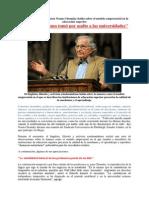 Noam Chomsky Habla Sobre El Modelo Empresarial en La Educación Superior
