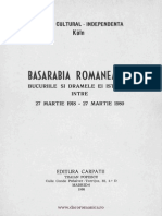 Basarabia Romaneasca - Bucurii Si Drame