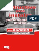 Instalación de Durock