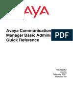 Avaya Com Manager Basic