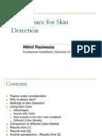 Color Space Skin Segmentation