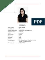 BIODATA +CV nutrul