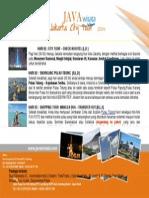 Paket Wisata Tidung + Jakarta City Tour 3D2N