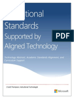 Aligned Technology Supporting Educational Standards