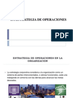 3 La Estrategia de Operaciones, Desarrollo de una estrategia de operacion impulsada por el cliente