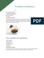 Ensalada de Tomates y AceitunasPARA 4 PORCIONES