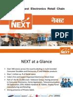 NEXT  Electronics - Franchisee