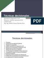 Técnicas Decisionales