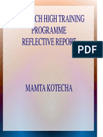 hth - reflective report