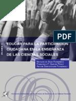 Alba & Otros (2012) Educar Para La Participacion Ciudadana en La Enseñanza de Las C.S. Vol.ii