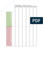 Weekly Planning Timetable