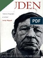 [R.P.T. Davenport-Hines] Auden
